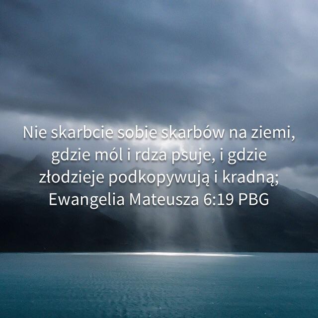 Prawdziwy skarb (Mt. 6:19-24, 1 Tm. 6:6-10)
