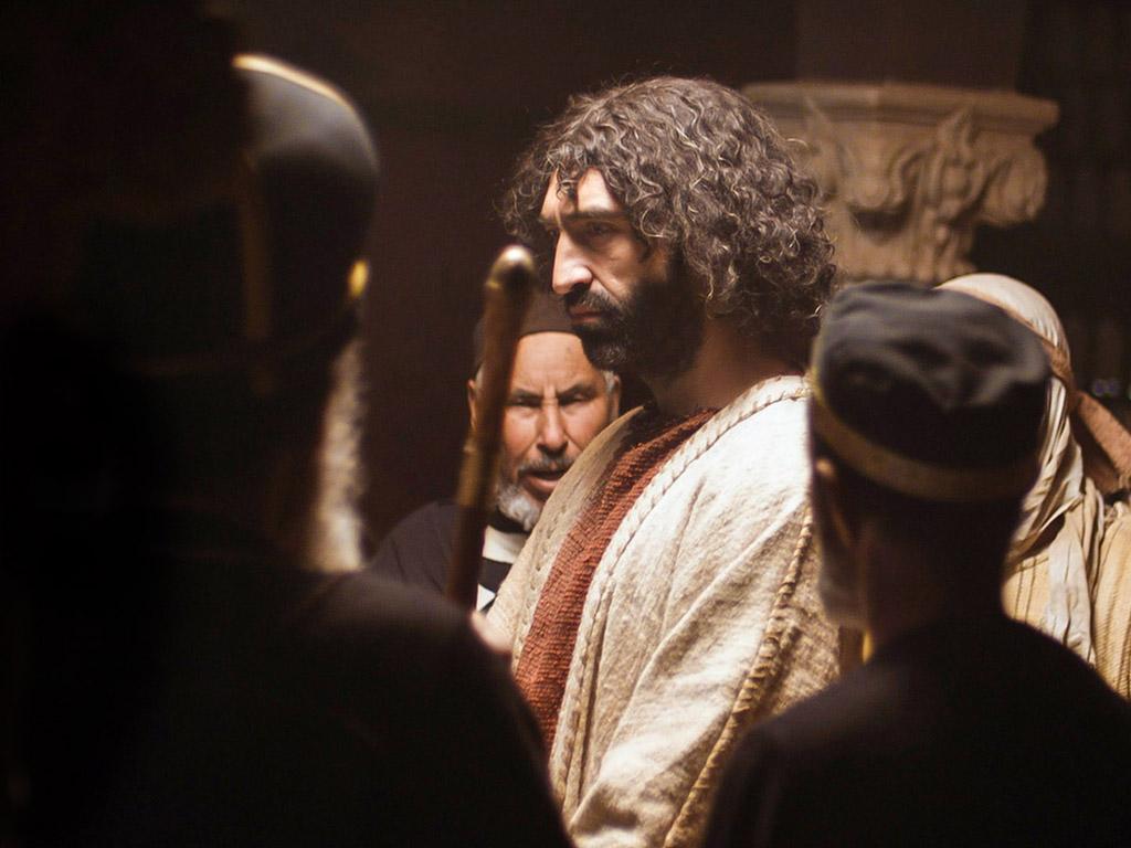 Jezus przed Radą Najwyższą (Mt. 26:57-68)