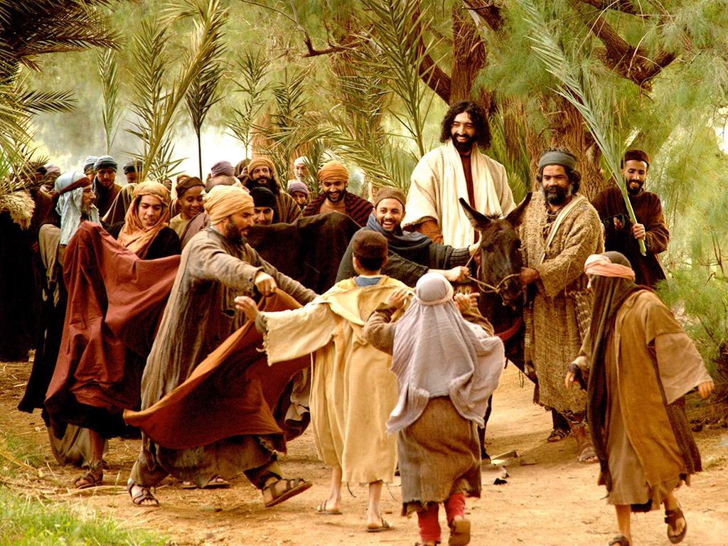 Wjazd Jezusa do Jerozolimy (Mt. 21:1-11)