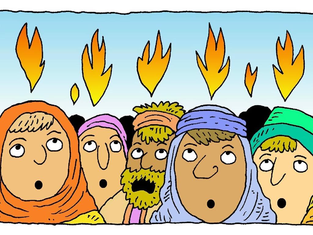 Zesłanie Ducha Świętego (Dz. 2:1-15)