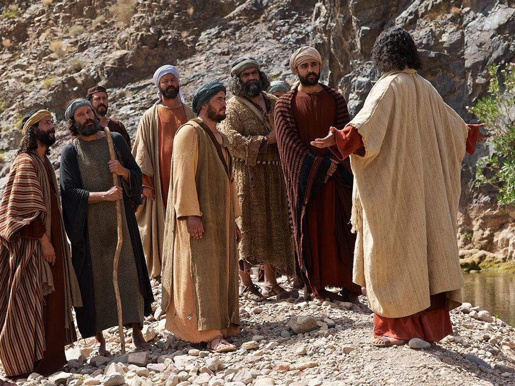 Uzdrowienie dwóch opętanych (Mt. 8:28-34)
