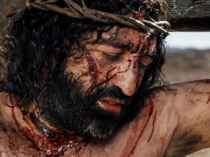 śmierc na krzyżu