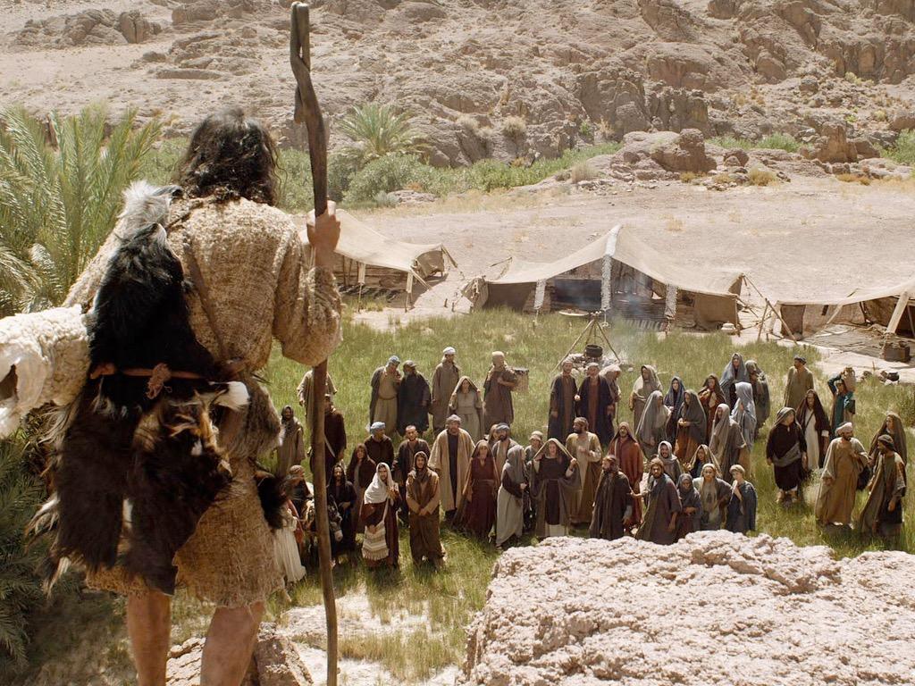 Kazanie Jana Chrzciciela (Łk. 3:1-22, Mk. 1:1-8, Mat. 3:1-12)
