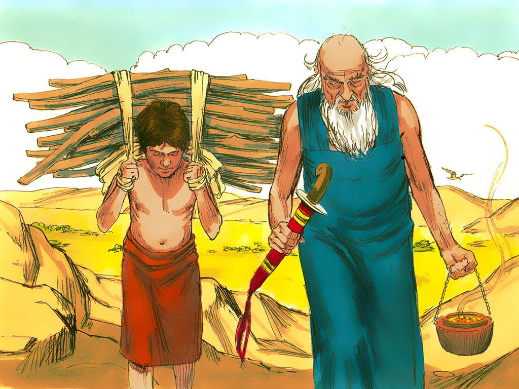 Ofiarowanie Izaaka (1 Mż 22:1-17)